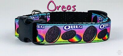 Oreo Dog - Oreo's dog collar handmade adjustable buckle collar 5/8