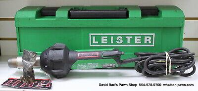 Leister Triac St 120v Corded Hot Air Gun 141.228 With Case