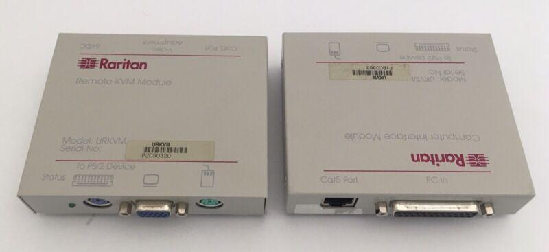 Raritan Reach KVM Extender UKVM URKVM Transmitter Receiver Pair Remote Access
