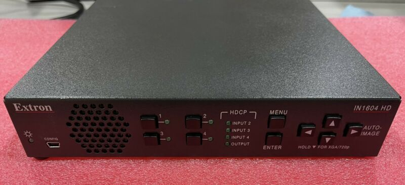 Extron IN1604 HD | Compact Four Input Scaler with HDMI Output