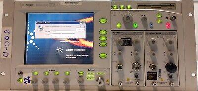 Agilent Infiniium Wide Bandwidth Oscilloscope 86100A No Option Main Frame Only