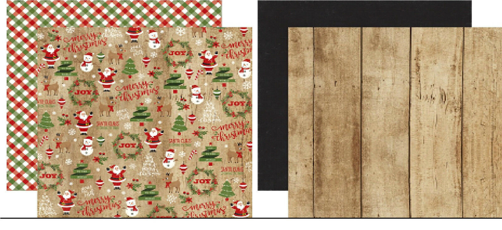Echo Park A Perfect Christmas DoubleSided Cardstock 12X12 Scrappapier 30,5 cm