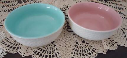Two Small Ceramic Marie Claire Dishes - Diameter 9cm - $5 each & Marie Claire wine glasses | Dinnerware | Gumtree Australia Cairns ...