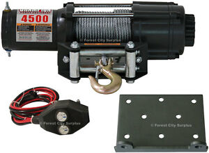 New - CHAMPION 4500 POUND POWER WINCHES - Pulling Power !!!