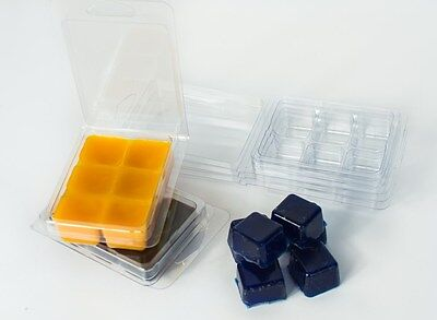Tart Melt CLAM SHELL Molds 100 PIECES  -FREE Shipping