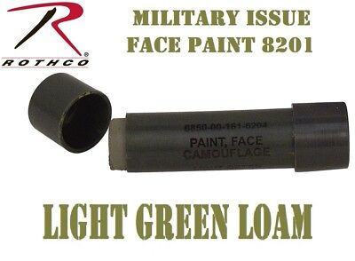 Militar Issue Army USMC NATO Light Green Loam Face Paint Cream Stick Rothco - Face Paint Cream
