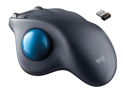 Logitech ADVANCED WIRELESS TRACKBALL Windows Mac OS Chrome Back Forward Buttons, used for sale  Shipping to India