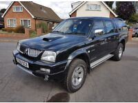 Low Miles 2006 Mitsubishi L200 Trojan, Facelift Model, Same Spec As Warrior, P/X & Finance Welcome
