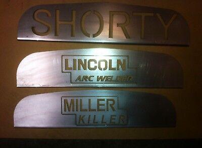Lincoln Sa200 Shorty Redface Blackface Grill Insert