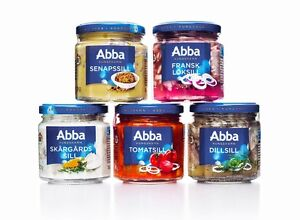 abba sea food herring sill with different flavors made in sweden only. Black Bedroom Furniture Sets. Home Design Ideas