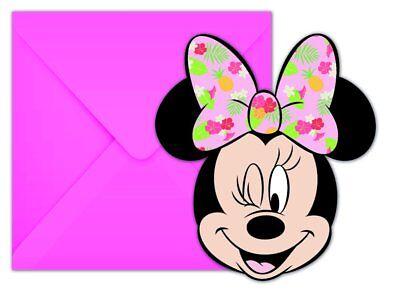 6 Einladungskarten mit Umschlag Neu & OVP (Tropische Einladungen)