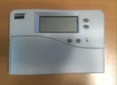DAYTON 1UHG7 Digital Thermostat,1H,1C,5-1-1 Program 5/1/1 Program Digital Thermostat