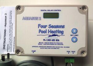 Swimming Pool Spa Solar Heating Pump Digital Controller Dontek Aquasun 2 New Ebay
