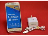 Samsung J5 Prime 16GB Gold Dual Sim Unlocked Boxed £140