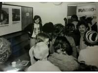 Original Vintage Photo radio city 1976