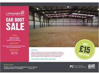 Castlemilk Community Charity Car Boot Sale