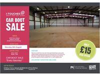 Castlemilk Car Boot sale ( Community Charity Event ) Every Saturday