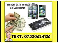 Selling your IPhone or Smartphone ? Look no further, all conditions - contact me for details