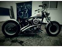 Harley davidson fxr bobber 1992