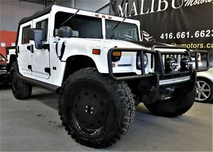 2003 Hummer H1 Open Top reverse camera 6 PASSENGER