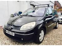 ★🐰PART EX TO CLEAR🐰★2005 RENAULT MEGANE SCENIC 1.6 PETROL ★7 SEATER★SERVICE HISTORY★KWIKI AUTOS★