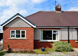 Immaculate 2 Bed Bungalow with small garden, Off road parking & garage