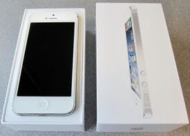 Apple iPhone 5 32gb Silver model , Boxed Unlocked to all networks