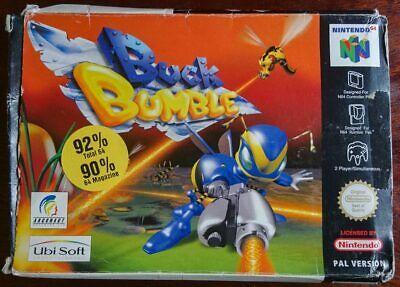 Buck Bumble - N64 (PAL, Boxed incl manual)