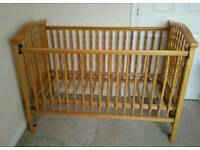 Brand new mattress, Adjustable cot /toddler bed