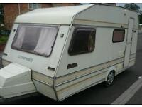 1990 compass omega lightweight 4 berth full awnings and lots of extras