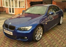 2009 BMW 3 series 320i M sport Highline Coupe Manual
