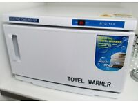 FACIAL TOWEL WARMER/STERILIZER/DISINFECTION SALON MODEL 16L UV 3 IN 1 NEW BOXED