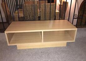 Oak effect TV unit IKEA
