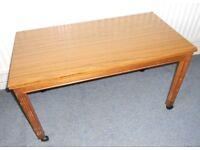 Retro TV Table Trolley, Coffee Table, Aquarium Stand