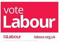 Free A3 'Vote Labour' posters