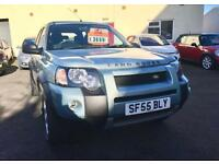 2005 55 LAND ROVER FREELANDER 2.0 TD4 ADVENTURER 5d 110 BHP