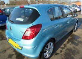 Vauxhall Corsa Oriental Blue 1.2