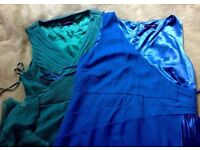 Teatro Dresses Size 20 Stunning Cocktsil/Wedding/Prom GREEN + BLUE