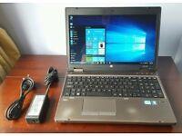 HP ProBook 6560p Laptop / Core i3 / 4GB RAM / 320GB HDD