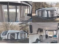 Caravan Awning. Bradcot Concept 990, plus unused annex and inner. E A Frame. Excellent condition.