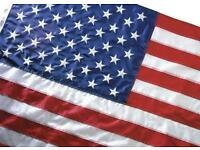 Eco-Glory® 3 x 5 USA Flag 100% recycled plastic from Valley Forge. Collector As discontinued