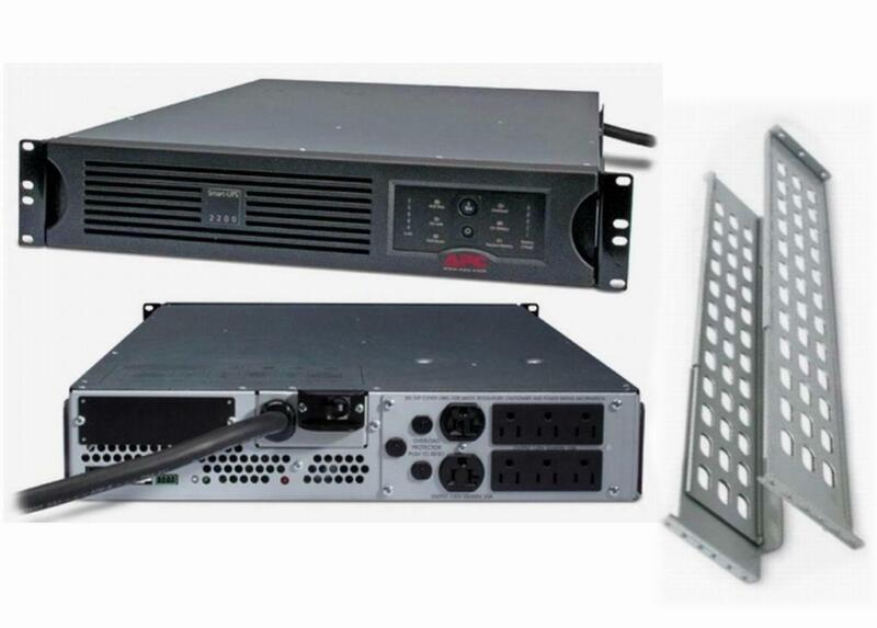 APC SUA2200RM2U Smart-UPS 2200VA 1980W 120V Rackmount Power Backup New Batteries
