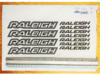 Raleigh stickers * Part used. FREE.