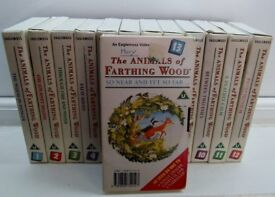 The Animals Of Farthing Wood : VHS Tapes : Season 1, All 13 Tapes / Episodes.
