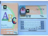 Cricut Cartridge 'ABC Plantin Schoolbook' Cartridge, Keyboard & Instructions