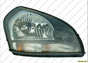 Head Light Passenger Side Coupe 6 Speed 2.0L High Quality Honda Civic 2006-2009