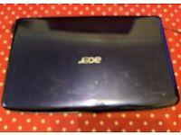 Acer aspire 5536 series 200gb Hdd 3gb Ram laptop.