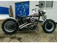 Harley Davidson FXR Bobber 1992 custom built
