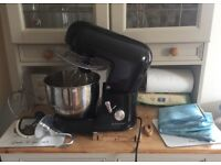 Andrew James variable speed electric mixer with attachments and dust cover