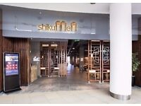 Waiting Staff Bar Tenders & Line Cooks wanted at Shikumen Restaurant O2 Centre Finchley Rd N. London